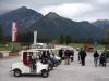 Elektrisch und umweltfreundlich, das Golfcar