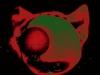Der rote Katzenkopf